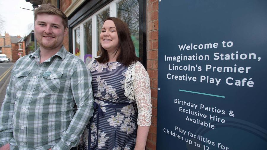 Directors Luke and Katherine Austin. Photo: Steve Smailes for The Lincolnite