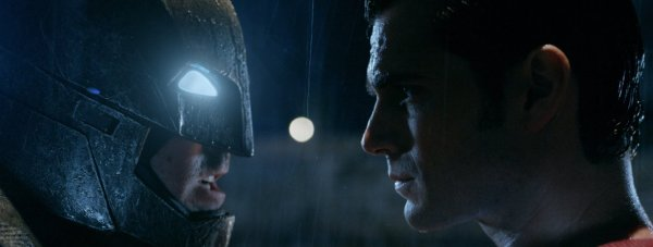 Ben Affleck and Henry Cavill in Batman v Superman. Photo by Warner Bros. Entertainment.