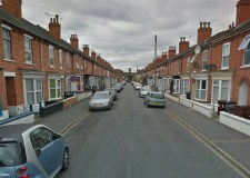 The incident happened on Kirkby Street in Lincoln. Photo: Google Street View