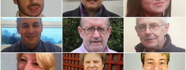 Candidates standing in Moorland ward.