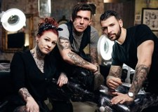 The show is from the producers of the hit television show Tattoo Fixers (star fixers pictured) Photo: Channel 4