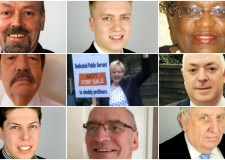 Candidates standing in the Witham ward of Lincoln.