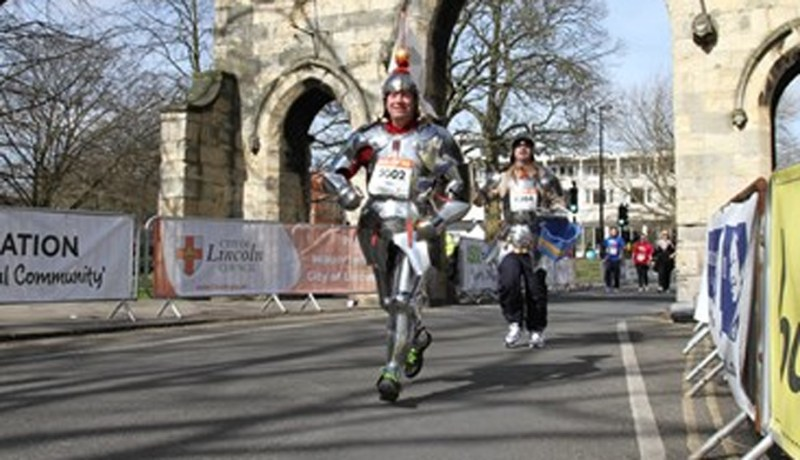 Look out for Team Running Knights.