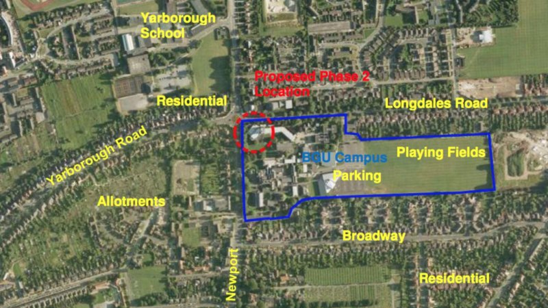 The plans for the BGU expansion.