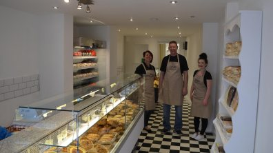 Tony Loxley and his team at Loxley's Market Deli. Photo Sarah Harrison-Barker