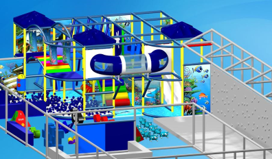 New underwater themed play area for under fives