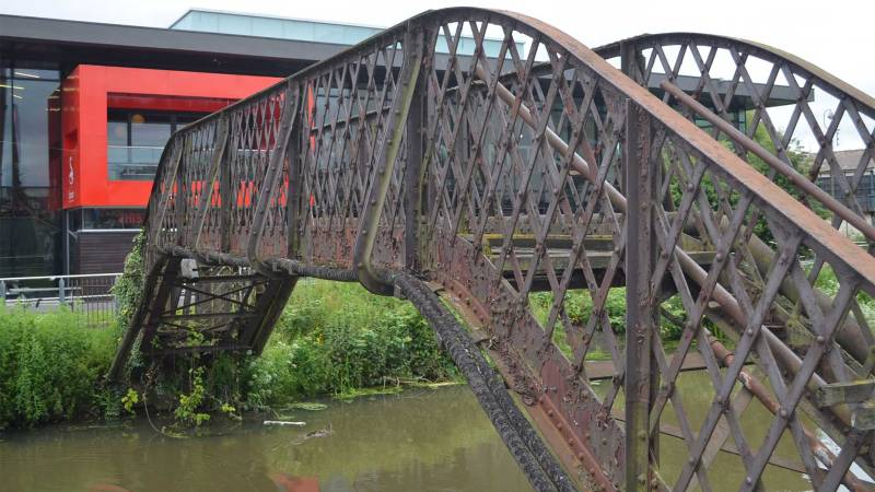 "The bridge has been described as ""beyond economic repair"" by the University of Lincoln"