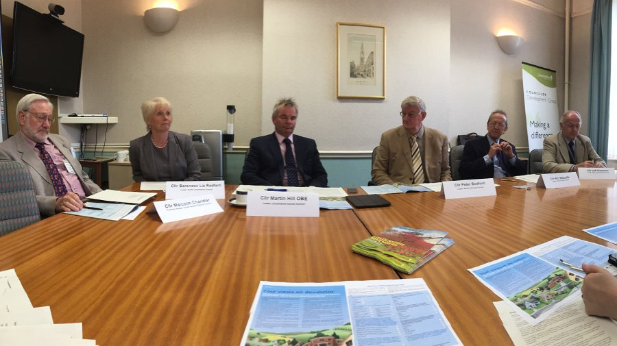 Representatives of all 10 Lincolnshire councils launched the consultation on the proposals on Monday, June 27.