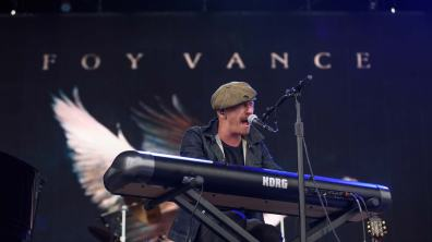 Supporting the rocket man was Northern Irish singer-songwriter Foy Vance. Photo: Steve Smailes for The Lincolnite