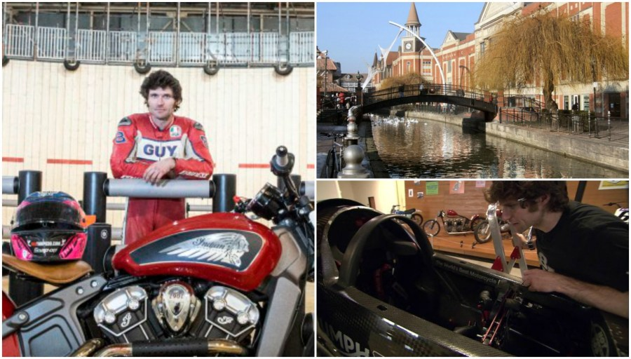 Guy Martin will attempt a world record for speed on the River Witham in Lincoln.