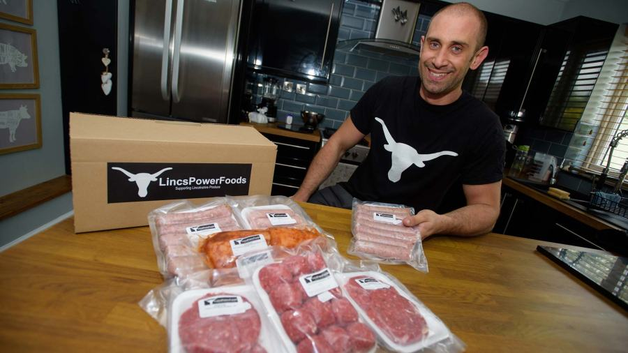 Founder of LincsPowerFoods Dave Rose-Allen