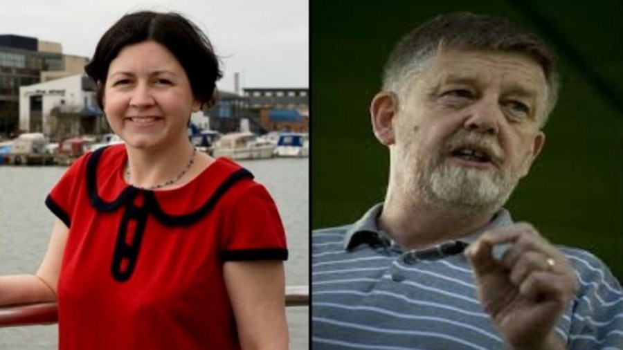 Lincoln city and county councillor Rosanne Kirk (left) will go head-to-head with national chair of the Trade Unionist and Socialist Coalition, Dave Nellist