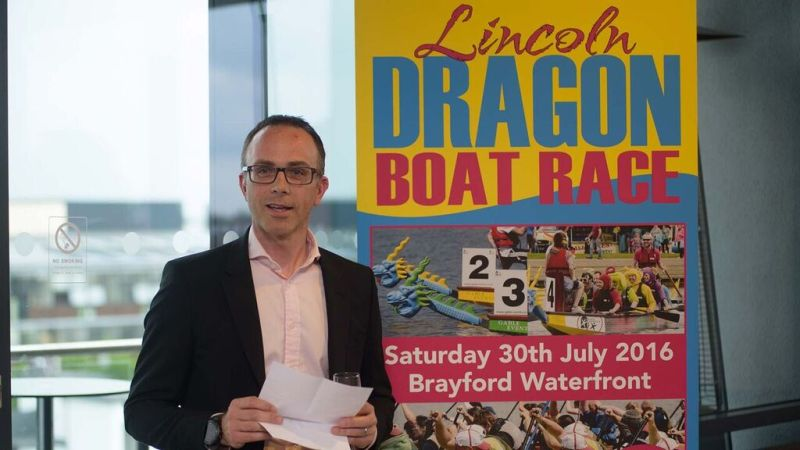 John Knight, Partner at Ringrose Law is looking forward to the event Photo: Steve Smailes for The Lincolnite