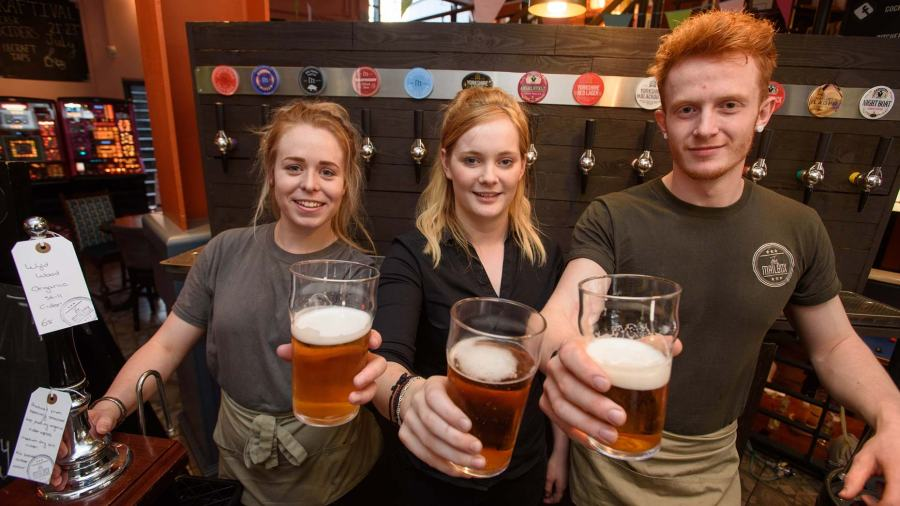 Many craft beers and ales will be on sale at Mailbox in Lincoln for the Craftival. Photo: Steve Smailes for The Lincolnite