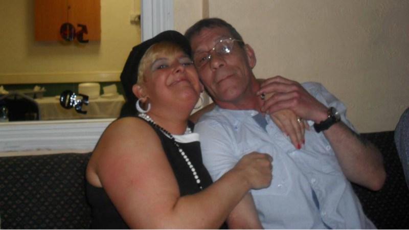 Amanda with husband Raymond Photo: Facebook