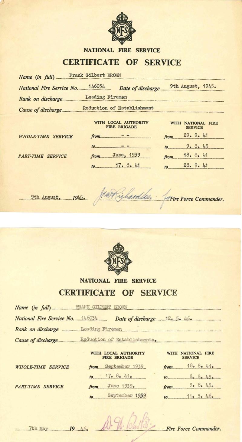 Certificate-of-service
