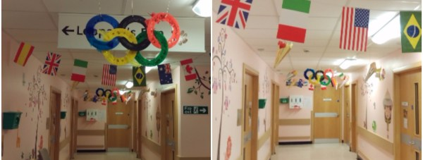 Hospitalolympic Collage