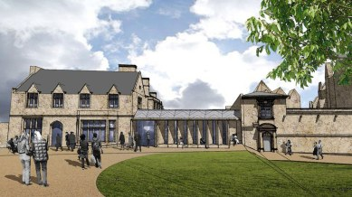 The new facilities will be located at the old Deanery