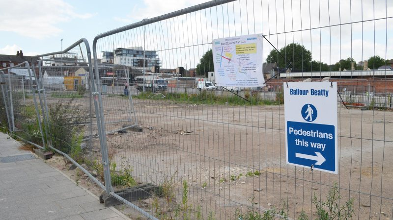 Once funding is approved for the Lincoln Transport Hub, the bus station will move to Tentercroft Street. Photo: Emily Norton