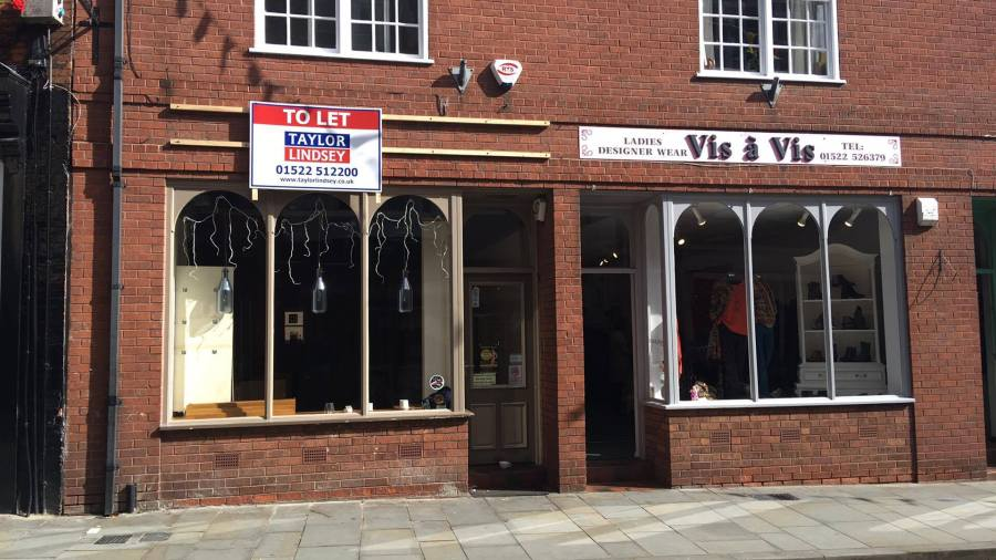 Cooplands in the Bailgate has had all of its equipment removed from the store already