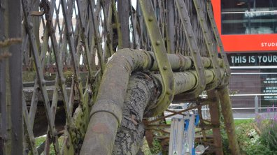 The bridge was deemed structurally unsound and repairs were out of the question. Photo: The Lincolnite