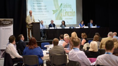 Lincoln Growth Conference was hosted by City of Lincoln Councillors and business leaders