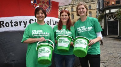Macmillan Cancer Support. Photo: Steve Smailes for The Lincolnite