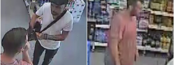 Police believe the two men pictured could help with their investigation