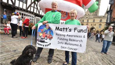 Charity, Matt's Fund Photo: Steve Smailes for The Lincolnite
