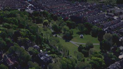 The Arboritum. Photo: Google Earth