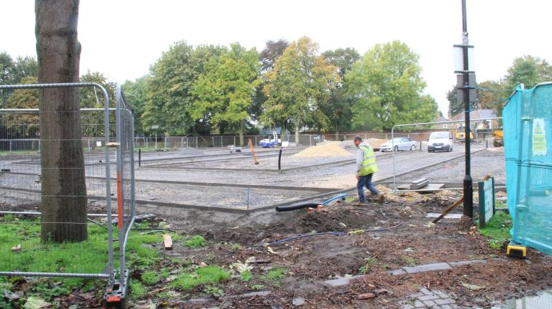 The new car park will be complete in time for the 2016 Lincoln Christmas Market. Photo: Emily Norton for The Lincolnite