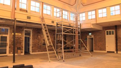 The roastery will be located in the main hall. Photo: Emily Norton for The Lincolnite