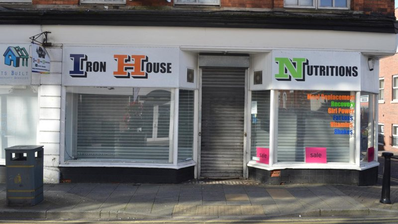 Plans for a new speakeasy have been submitted for the former Iron House Nutrition on Corporation Street, Lincoln. Photo: Sarah Harrison-Barker for The Lincolnite