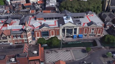 Waterside Shopping Centre. Photo: Google Earth