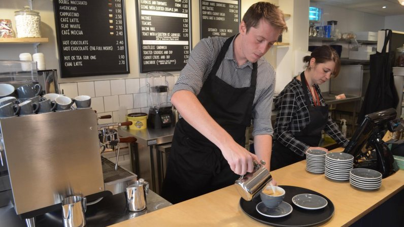 The own brand coffee shop will use its own blend of coffee