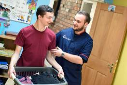 Care jobs can become careers with the training and development encouraged at the Exchange