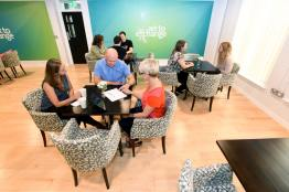 Networking space and regular events will make the Exchange a hub of care activity and collaberation between businesses and the community
