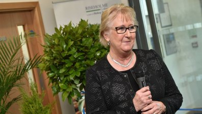 Jeanette Dawson OBE, Chief Executive and Principal of the College. Photo: Steve Smailes for The Lincolnite