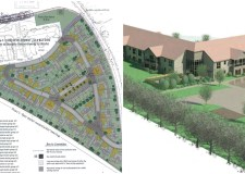Plans for the new homes in Washingborough.