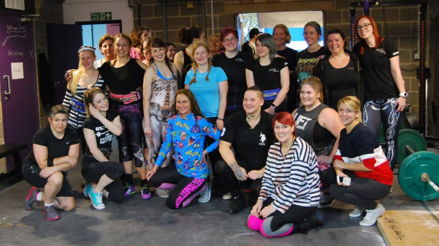 Powerlifting Lincoln ladies complete 1,000,000kg deadlift for rape