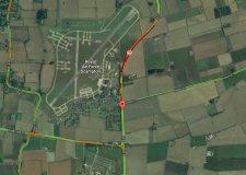 The crash happened at around 8.15am. Photo: Google Maps