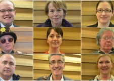 All the candidates standing in the Sleaford and North Hykeham by-election. Photos: Lincolnshire Reporter