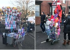 Stallholders at the Christmas Market have spoken out in anger at the number of street pedlars at the event.