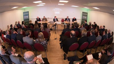 The Brexit panel was fully booked. Photo: Steve Smailes for The Lincolnite