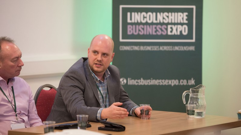 Daniel Ionescu, Founding Director of Stonebow Media. Photo: Steve Smailes for The Lincolnite