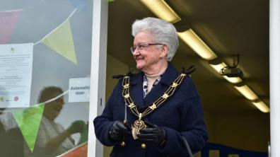Mayor of Lincoln Yvonne Bodger. Photo: Steve Smailes for The Lincolnite