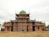 Taking shape: First tour inside Lincoln Mosque construction