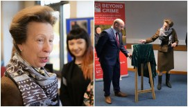 HRH Princess Anne visited the team at Lincolnshire Police HQ in Nettleham on Friday, February 3.
