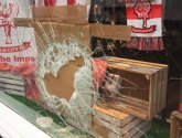 Thieves ransack pharmacy's Lincoln City display and leave £1.8k of damage