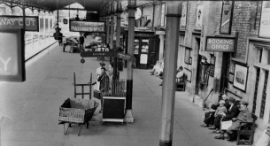 Including photos such as this one of Lincoln Station.